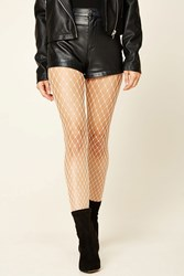 Forever 21 Fishnet Tights Nude