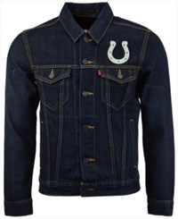 Levi's Men's Indianapolis Colts Trucker Jacket Blue
