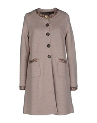 Maliparmi Coats And Jackets Coats Women Light Brown