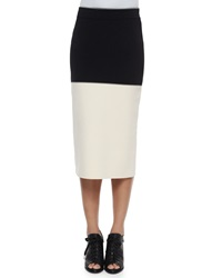 Rag And Bone Regina Colorblock Midi Pencil Skirt