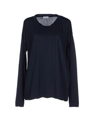 Authentic Original Vintage Style Topwear T Shirts Women Dark Blue