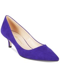 Callisto Teagan Pointed Toe Pumps Women's Shoes Blue