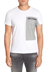 French Connection Men's 'Thruster' Pocket T Shirt