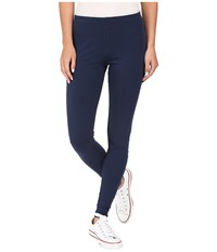 Converse Core Wordmark Leggings Nighttime Navy Women's Casual Pants