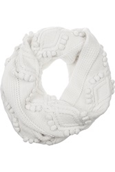 3.1 Phillip Lim Cable Knit Wool Scarf