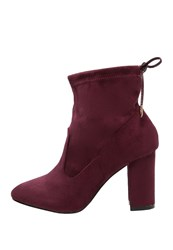 Dorothy Perkins Alisa Ankle Boots Red Dark Red