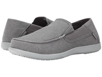 Crocs Santa Cruz 2 Luxe Charcoal Light Grey Men's Sandals Black
