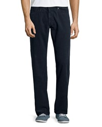 Ag Adriano Goldschmied Protege Straight Leg Corduroy Pants Sulfur Midnight