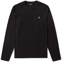 Polo Ralph Lauren Long Sleeve Crew Neck Tee Black