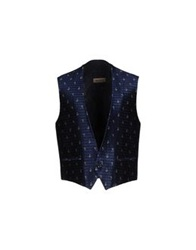 Carlo Pignatelli Vests Dark Blue