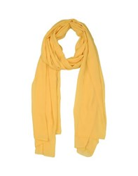 Hanita Accessories Stoles Women Yellow
