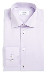 Men's Eton Contemporary Fit Stripe Dress Shirt