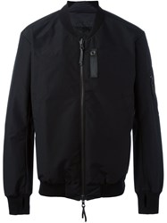 11 By Boris Bidjan Saberi Glove Sleeves Bomber Jacket Black