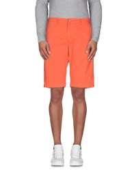 40Weft Trousers Bermuda Shorts Men Coral