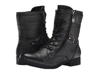 G By Guess Bates Pu Black Women's Lace Up Boots