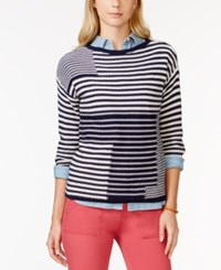 American Living Striped Sweater Only At Macy's