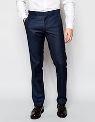 Vito Trousers In Slim Fit Navy