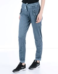 Deha Trousers Casual Trousers Women Slate Blue