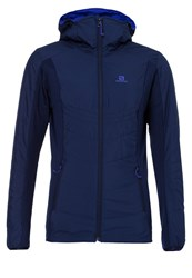Salomon Drifter Outdoor Jacket Wisteria Navy Phlox Violet Dark Blue