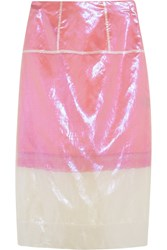 Marc By Marc Jacobs Cluster Organza Skirt Pink