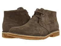 Ugg Leighton Charcoal Suede Men's Dress Lace Up Boots Gray