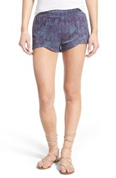 Women's Rvca 'Worthy 2' Print Shorts