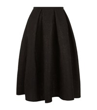 Erdem Kit Lace Neoprene Midi Skirt Female Black