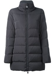 Moncler 'Petrea' Padded Coat Grey