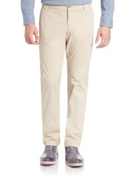 Faconnable Garment Dyed Solid Pants Sand