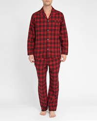 Polo Ralph Lauren Red Black Checked Flannel Pyjamas