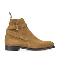 Church's Yellow Bletsoe Suede Lined Leather Boots