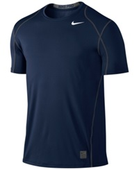 Nike Pro Cool Fitted Dri Fit Shirt Obsidian White