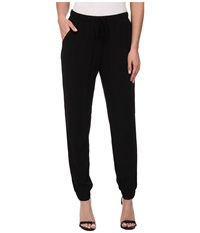 Alternative Apparel Rayon Challis Jogger Pants Black Women's Casual Pants