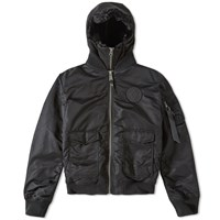 Marcelo Burlon X Alpha Industries Atravieso Jacket Black