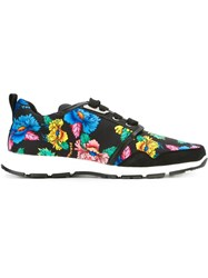 Dsquared2 Floral Print Sneakers Black