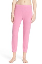 Women's Michael Lauren 'Nate' Crop Sweatpants Pink
