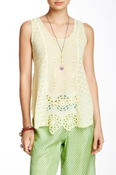 Johnny Was Lace Tank Multi
