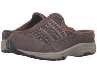 Easy Spirit Traveltime 224 Medium Brown Black Multi Suede Women's Shoes
