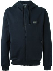 Dolce And Gabbana Classic Hooded Sweatshirt Blue