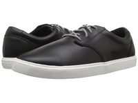 Crocs Citilane Leather Lace Up Black White Men's Lace Up Casual Shoes