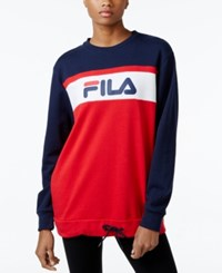 Fila Novara Sweatshirt Peacoat Chinese Red