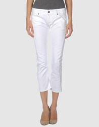 Tirdy Denim Denim Trousers Women White