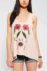 Truly Madly Deeply Botany Tunic Tank Top Nude