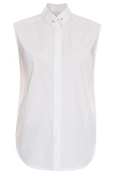 3.1 Phillip Lim Silver Detail Shirt Top