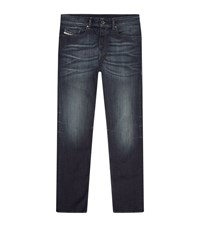 Diesel Buster Faded Slim Tapered Jeans Male Dark Blue