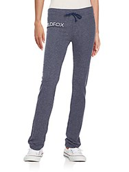 Wildfox Couture Classic Logo Lounge Pants Opium Blue