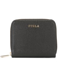 Furla Zip Around Wallet Black