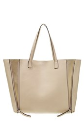 Anna Field Tote Bag Creme Gold Beige