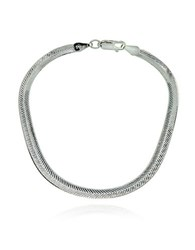 Lord And Taylor Sterling Silver Chain Bracelet