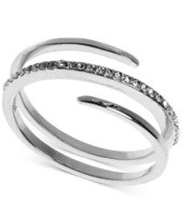 Judith Jack Sterling Silver Crystal Wrap Ring